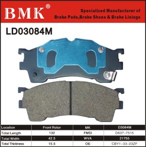 Environment Friendly Brake Pad (D3084M) pictures & photos
