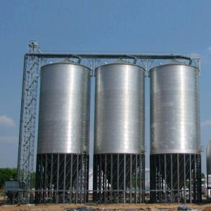 Flat Bottom Grain Steel Silos for Storage pictures & photos