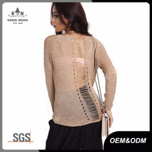 Distressed Fashion UK Knitwear Women′s Clothing pictures & photos