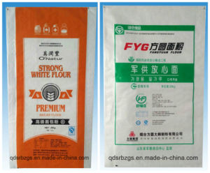 BOPP Film-Laminated Plastic Packaging PP Woven Flour / Rice / Wheat Bag pictures & photos