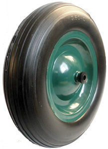 PU Wheels for Wheel Barrow Hand Trolley Tool Cart PU1415