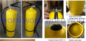 4kg Portable Dry Powder Fire Extinguisher for Colombia pictures & photos