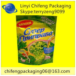 Vegetable Powder Packaiging Bag with Zipper pictures & photos