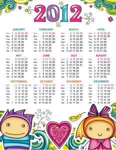 High Quality Wall Monthly Calendar for Promotion pictures & photos