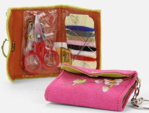 Fashion Pink Velvet Sewing Kit Bag pictures & photos