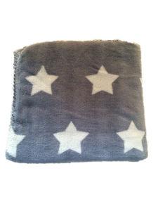 Hot Sale Sr-B170227-3 Super Soft Flannel Fleece Coral Fleece Blanket pictures & photos