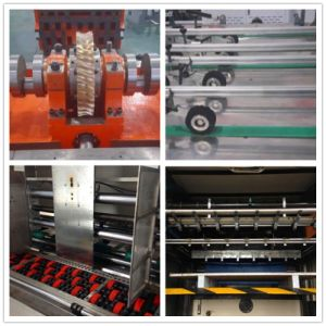Automatic Corrugated Paper Box Making Machine (Die Cutting and Creasing) pictures & photos