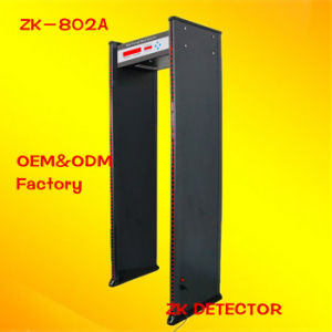 Hot Sale Security Walk-Through Metal Detector (ZK-802A)