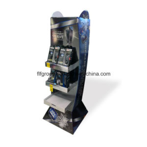 Cmyk Printing Corrugated Cardboard Display Pop Display Stand Paper Display Rack pictures & photos