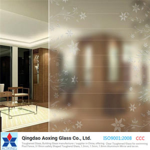 Anti-Scratch Silk Screen Printed Glass for Door/Table Glass pictures & photos