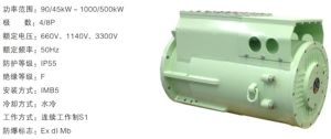 Ybsd/AC Motor / Explosion-Proof Three-Phase Asynchronous Motor for Conveyor pictures & photos