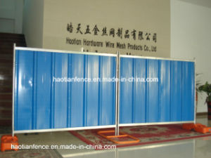 2X2.1m Temporary Steel Hoarding Panel pictures & photos