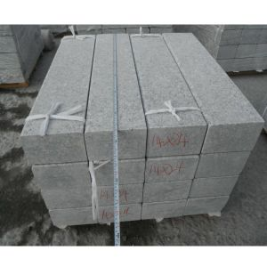 Grey Cheap Flamed Granite Kerbstone for Driveway pictures & photos