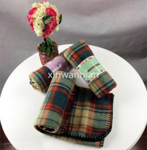 High Quality 100% Polyester Polar Fleece Blanket (XSM-SM015)