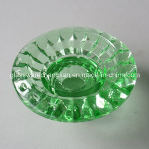 Color-Sprayed Glass Candle Holder (ZT-080) pictures & photos