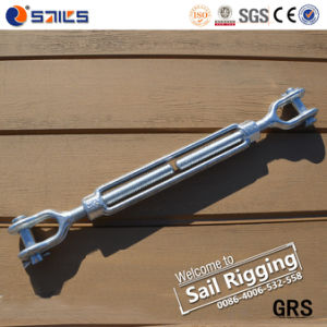Steel Drop Forged Us Type Marine Turnbuckle with Hook and Eye pictures & photos