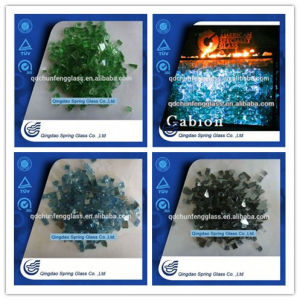 Colourful Glass Sand for Fireplace Decoration pictures & photos