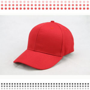 Custom 3D Embroidery Black Cotton Baseball Cap pictures & photos