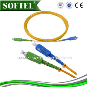 LC/APC to LC/Upc Sm Simplex Patch Cord/Pigtail pictures & photos