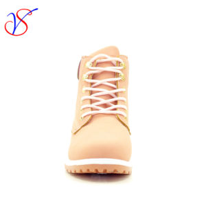 2016 New Style Women Work Boots Shoes for Job with Quick Release (SVWK-1609-028 PINK) pictures & photos