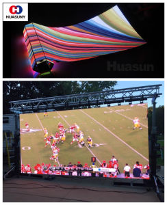 Light Weight P7 Flexible LED Curtain for Stage Background pictures & photos