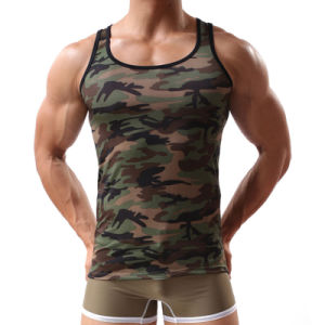 Camouflage Men′s Tank Top China