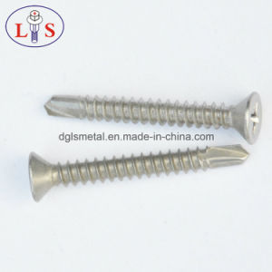 Stainless Steel 304 Flat Head Self Drilling Screw pictures & photos
