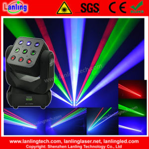 1650MW RGB 3*3 Matrixlaser Disco Stage Light Moving Head Laser pictures & photos