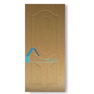 Natural Real Sapelli Wood Veneer Molded Plywood Door Skin pictures & photos