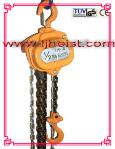 Chain Block Tecle Manules Cadena with Ce, GS Certified.