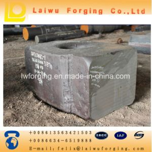 Black Forgings Roughcast Semifinished Product Open Die Forging pictures & photos