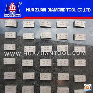 Formulated Segment Sharp Diamond Segment for Granite Cutting (HZSG-10) pictures & photos