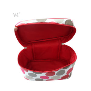 New Products 2016 Fashion Factory Price Satin Cosmetic Bag Wholesale pictures & photos