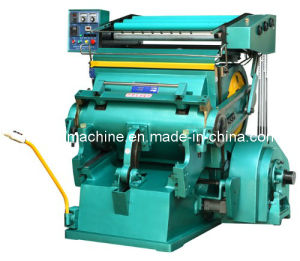 Die Cutting Machine with Hot Foil Stamping (TYMK750/930) pictures & photos