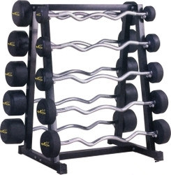 Fixed Straight Rubber Barbell pictures & photos