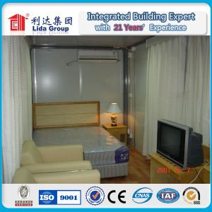 Customized Container House Dormitory Container Steel Venezuela Containers Workshop pictures & photos