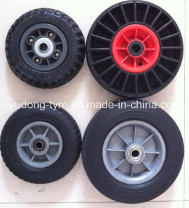 "8""X2"" & 10""X2"" Solid Rubber Wheels pictures & photos"