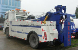 Dongfeng LHD Road Wrecker 4*2 Towing Truck for Sale pictures & photos