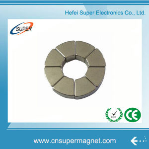 Competitive Price Arc Permanent Motor Magnet pictures & photos