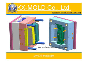 Plastic Injection Mould/Cable Tray Part Mould pictures & photos
