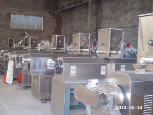 1-20mm Pellet Pet Dog Food Fish Feed Extrusion Machine Line pictures & photos