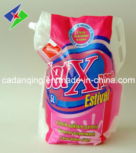 Multi-Color Free-Standing Pouch with Corner Spout for Detergent pictures & photos