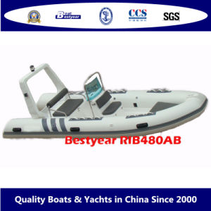 Bestyear Rigid Inflatable Boat of Rib480ab pictures & photos
