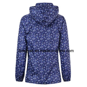 Thin Section Waterproof Coat Hooded Raincoat pictures & photos