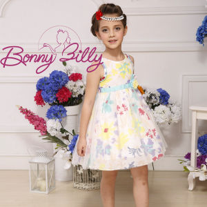 2015 New Arrival Fashion Colorful Prtined Bridesmaid Dress for Girls pictures & photos