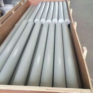 100% Virgin PVC Rods, Plastic Rods with White, Grey Color pictures & photos