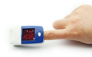 Contec Blood Oxygen LED Fingertip Pulse Oximeter SpO2 Pr Monitor pictures & photos