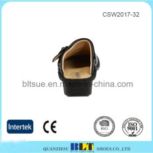Hand Made High Quality Leather PU Insole Height Increasing Shoes pictures & photos
