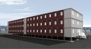Mobile Container House for Labor Camp/Accommodation/Hotel pictures & photos