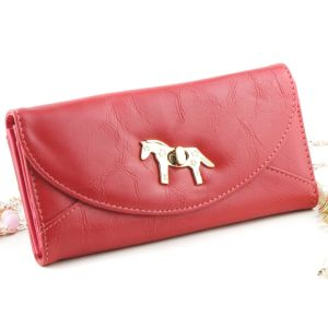 Coin Purse with Button for Lady pictures & photos